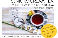Seniors Cream Tea 2016